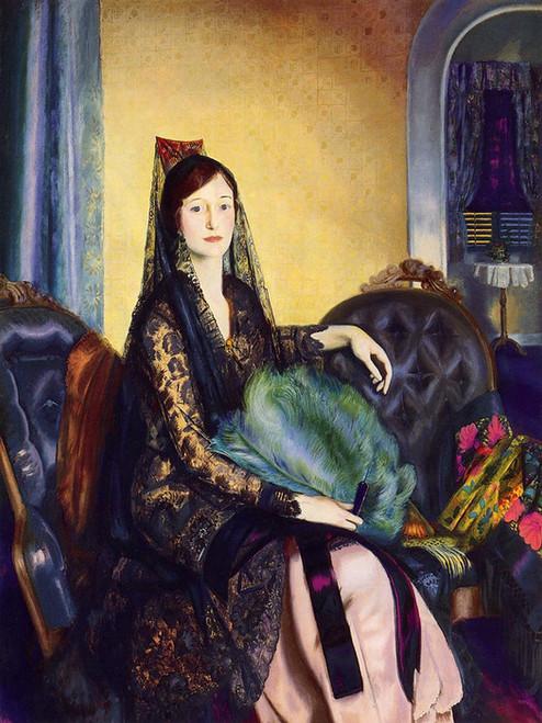 Art Prints of |Art Prints of Portrait of Elizabeth Alexander by George Bellows