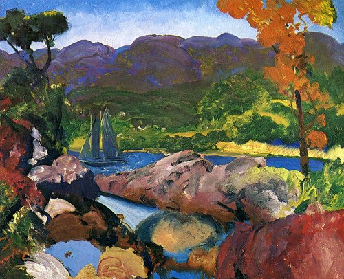 Art Prints of |Art Prints of Romance of Autumn, Sherman's Point by George Bellows