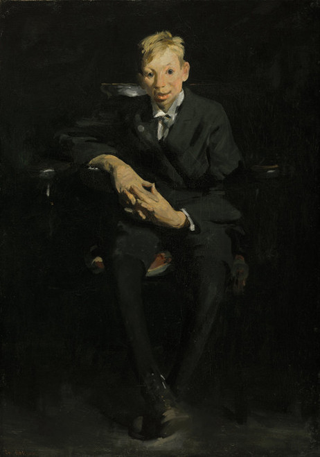 Art Prints of Frankie, the Organ Boy by George Bellows