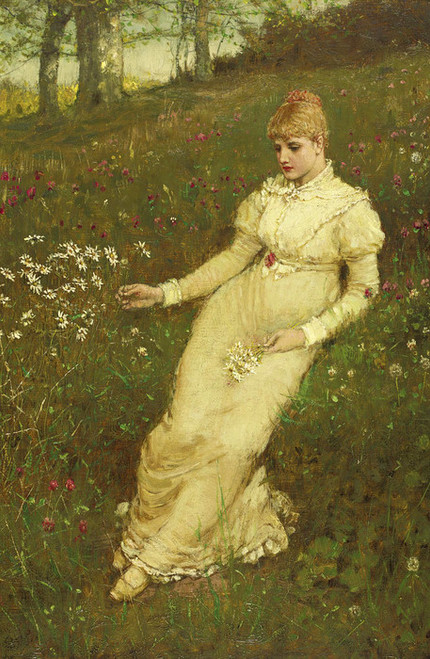 Art Prints of Spring by George Henry Boughton