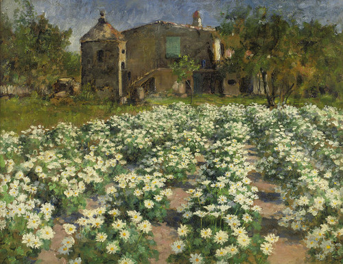 Art Prints of Field of Flowers by George Hitchcock