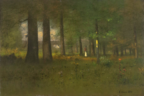 Art Prints of Edge of the Forest by George Inness