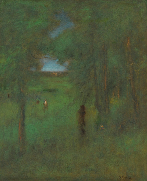 Art Prints of In a Shady Nook by George Inness