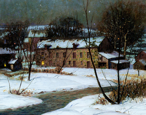 Art Prints of Spring Valley Mill by George Sotter