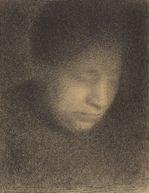 Art Prints of Madame Seurat, the Artist's Mother by Georges Seurat