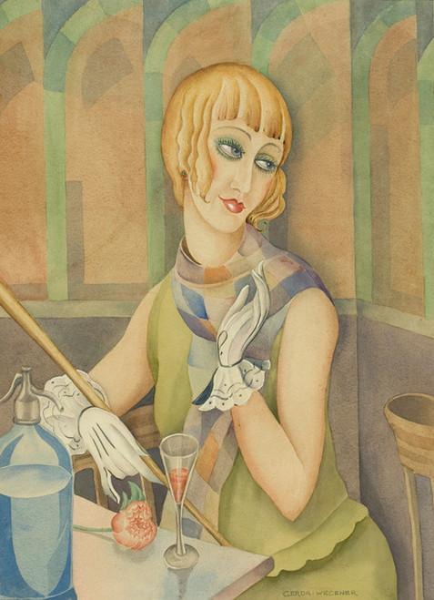 Art Prints of Lili Elbe by Gerda Wegener