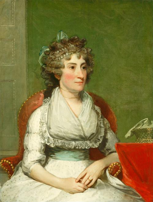 Art Prints of Catherine Yates Pollock by Gilbert Stuart