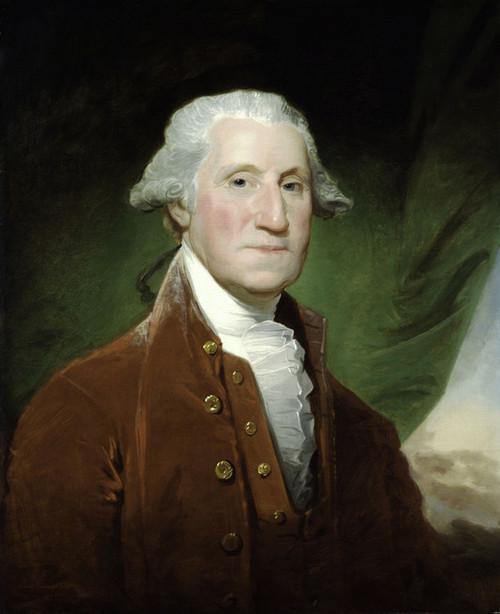Art Prints of George Washington 1795-96 by Gilbert Stuart