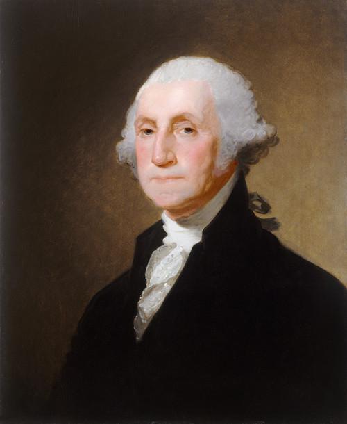 Art Prints of George Washington 1821 by Gilbert Stuart
