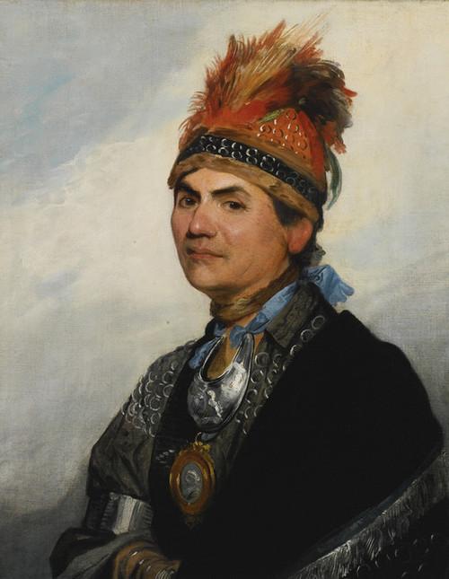 Art Prints of Joseph Brant by Gilbert Stuart