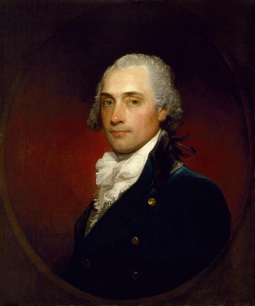 Art Prints of Portrait of John Vaughan by Gilbert Stuart