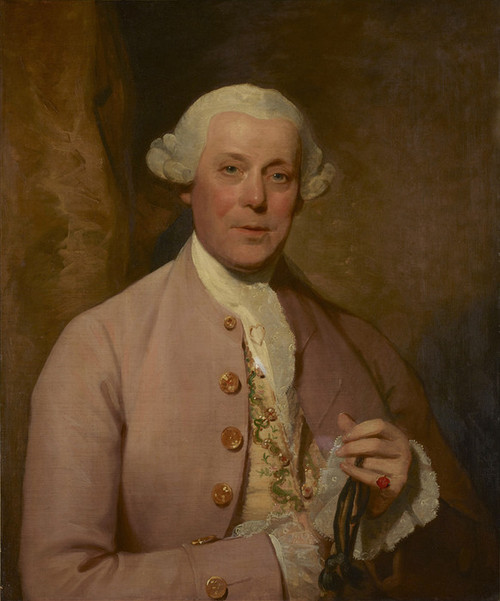 Art Prints of Portrait of Henry Lambert by Gilbert Stuart