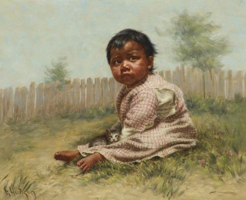Art Prints of Greenie, 1896 by Grace Carpenter Hudson