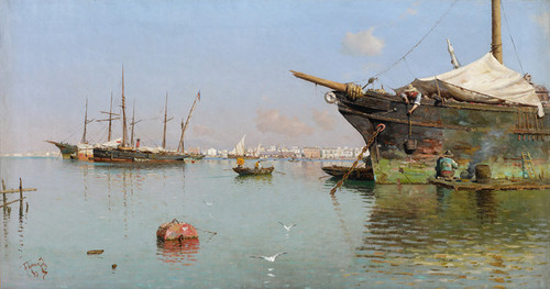 Art Prints of Puerto by Guillermo Gomez Gil