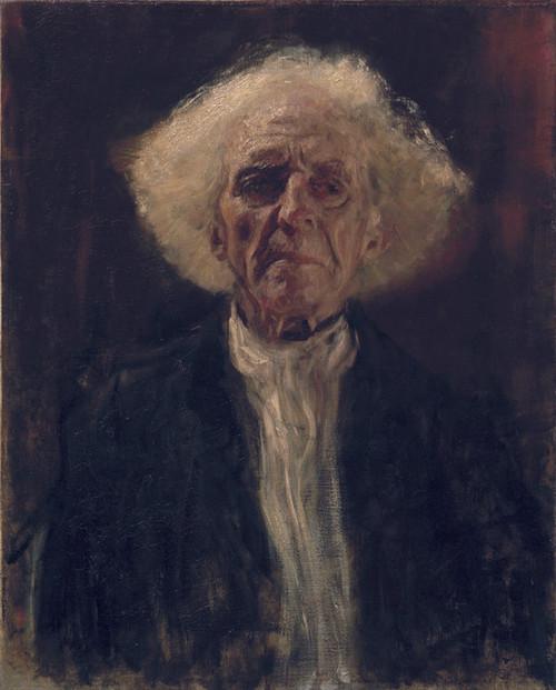 Art Prints of Blind Man by Gustav Klimt