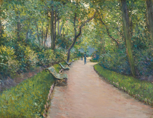 Art Prints of Park Monceau by Gustave Caillebotte