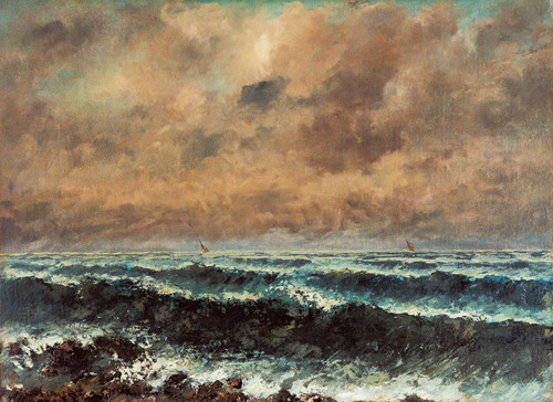 Art Prints of Autumn Sea by Gustave Courbet