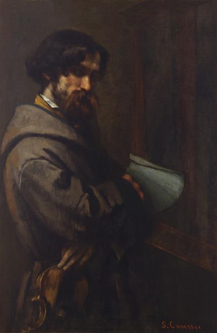 Art Prints of Alphonse Promayet by Gustave Courbet