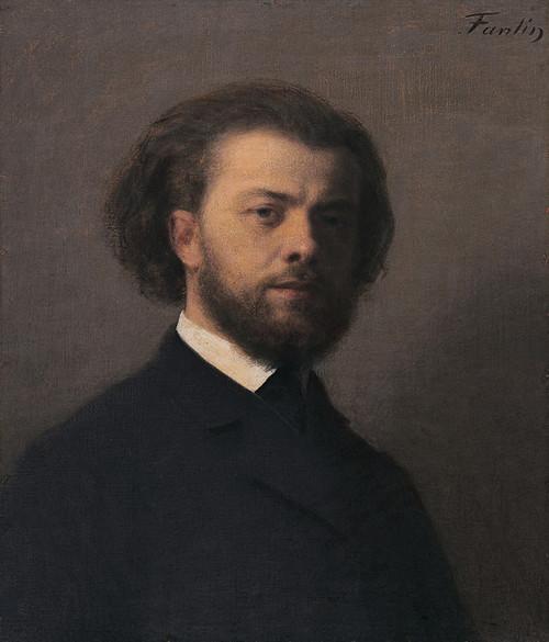 Art Prints of Self Portrait by Henri Fantin-Latour