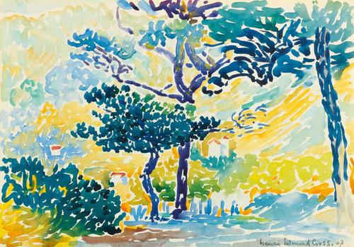 Art Prints of Provincial Landscape by Henri-Edmond Cross