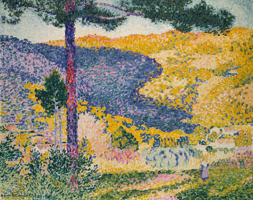 Art Prints of Shade on the Mountain by Henri-Edmond Cross