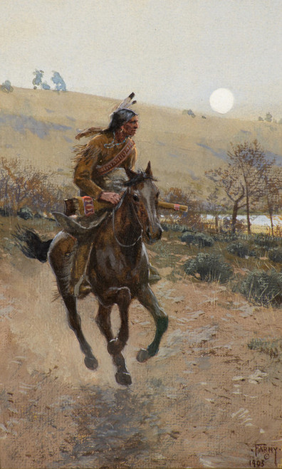 Art Prints of Comanche by Henry Farny