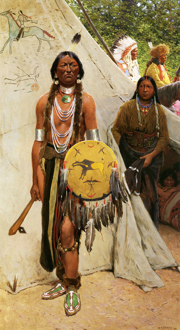Art Prints of Indians by Henry Farny