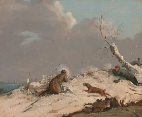 Art Prints of Duck Shooting, Winter by Henry Thomas Alken