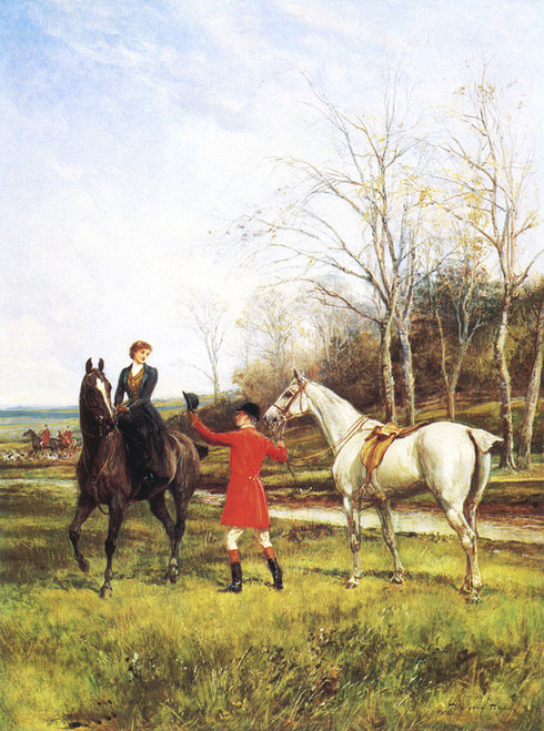 Art Prints of Chivalry by Heywood Hardy