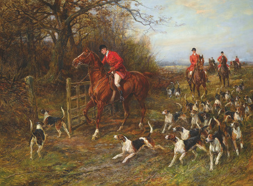 Art Prints of Drawing Covert, No. 1 by Heywood Hardy