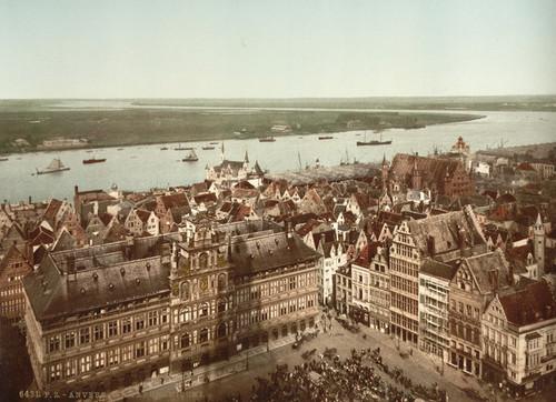 Art Prints of General View I, Antwerp, Belgium (387131)