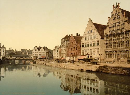 Art Prints of Boathouse, Ghent, Belgium (387201)
