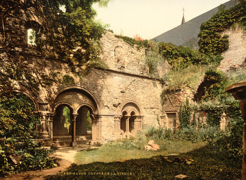 Art Prints of St. Bavon Abbey, the Virgin's Crypt, Ghent, Belgium (387196)