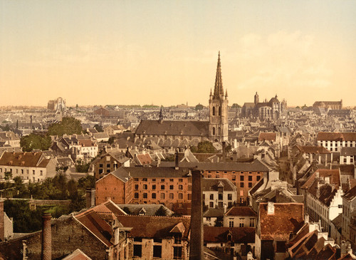 Art Prints of General View, Louvain, Belgium (387209)