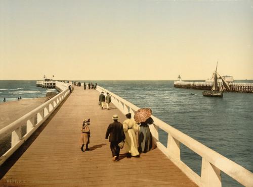 Art Prints of Entrance to Port, Ostend, Belgium (387214)