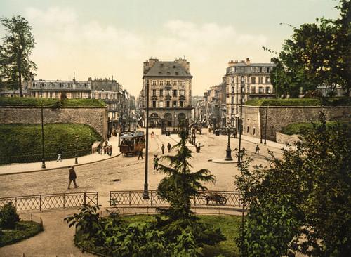Art Prints of Place Des Portes, Brest, France (387009)