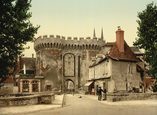 Art Prints of Guillaume Gate, Chartres, France (387043)