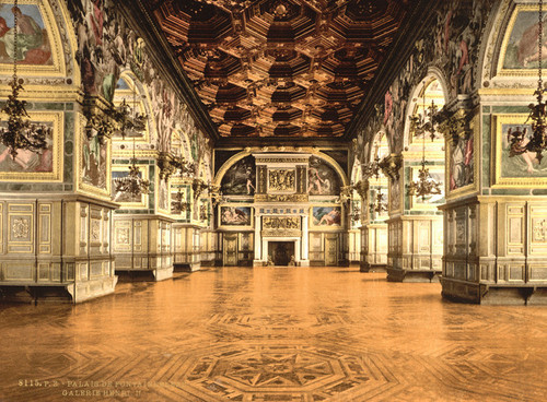 Art Prints of Gallery of Henry II, Fontainebleau Palace, France (387288)