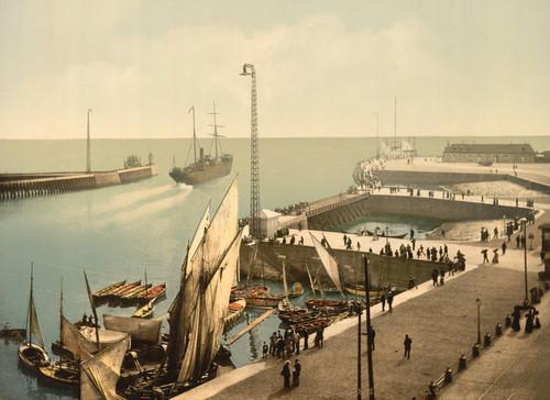 Art Prints of Entrance to Harbor, Havre, France (387307)