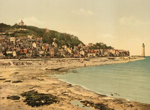 Art Prints of Mont Joli, Honfleur, France (387310)