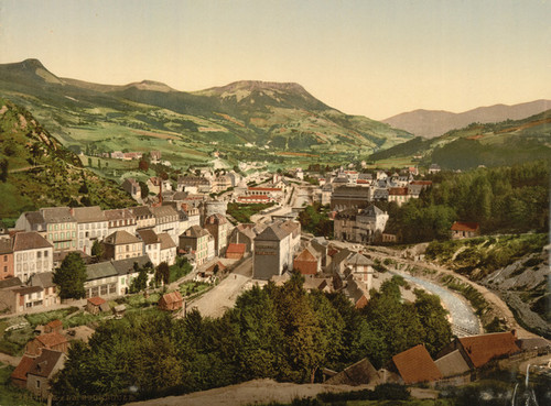 Art Prints of General View, La Bourboule, France (387314)