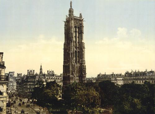 Art Prints of St. James Tower, Paris, France (387439)