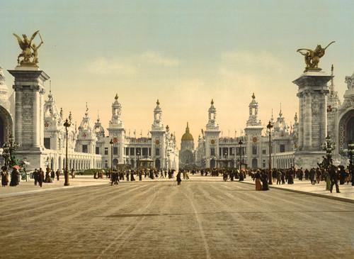 Art Prints of Avenue Nicholas II, Paris, France (387469)