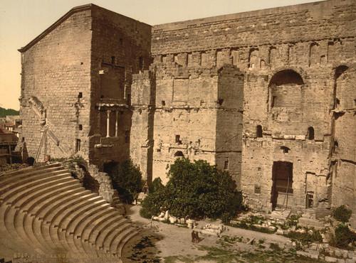 Art Prints of Roman Theatre, Orange, Provence, France (387500)