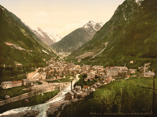 Art Prints of From Mamelon Vert, Cauterets, Pyrenees, France (387527)
