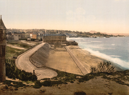 Art Prints of General View, Biarritz, Pyrenees, France (387522)