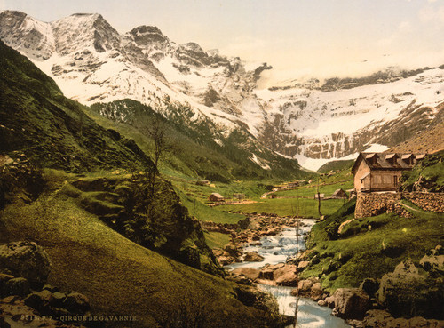 Art Prints of La Cirque, Gavarnie, Pyrenees, France (387541)
