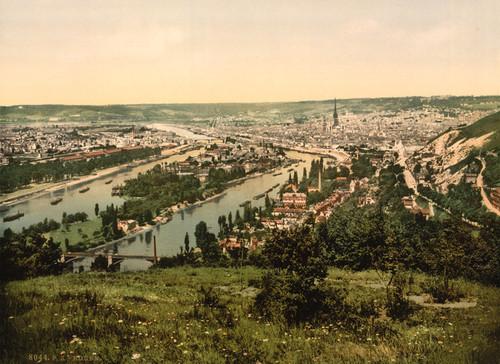 Art Prints of Bonsecours, Rouen, France (387590)