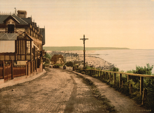 Art Prints of General View, Trouville, France (387626)
