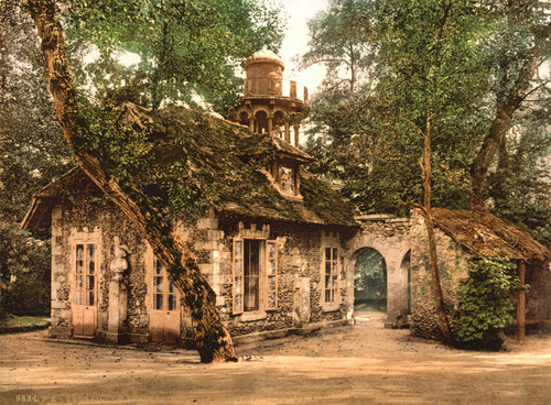 Art Prints of Petit Trianon, the Dairy, Versailles, France (387641)